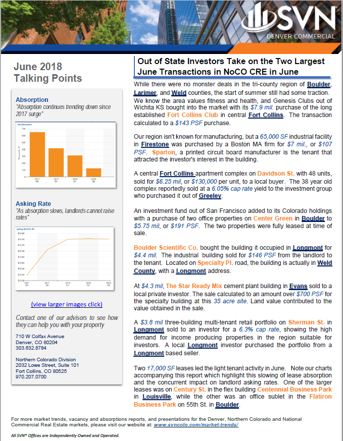 June Talking Points Report
